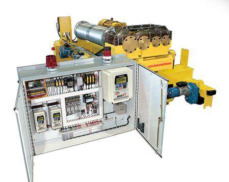 A40 Standard Hoist Control Panel