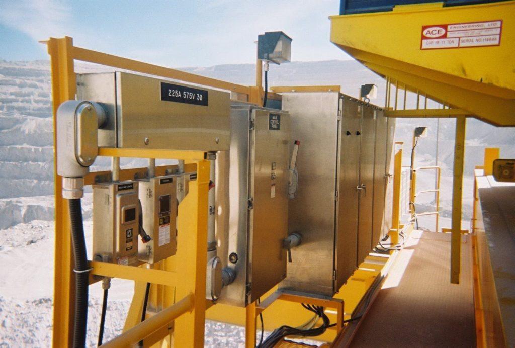 Custom Controls for Outdoor Crane