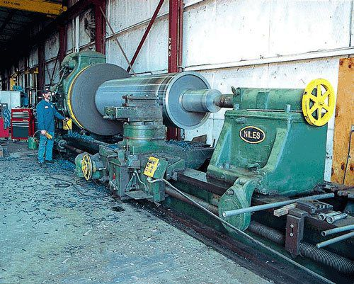 """Our Largest Lathe Can Turn Up to 84"""" in Diameter"""