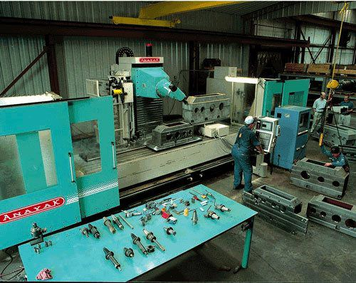 This CNC is Used for our Gearboxes and Special