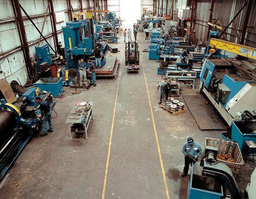 Our 17,000 Square Foot Machine Shop